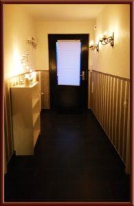 Eingang Big Secret SM Ferienwohnung