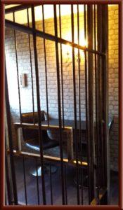 Fetisch Knast, Gefängniszelle im Big Secret BDSM Ferienhaus