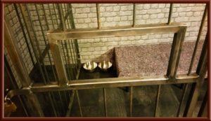 Fetisch Knast, Gefängniszelle im Big Secret BDSM Ferienwohnung