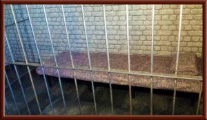 Fetisch Knast, Gefängniszelle im Big Secret bdsm Hotel