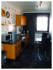 Küche im Little Island BDSM Appartment