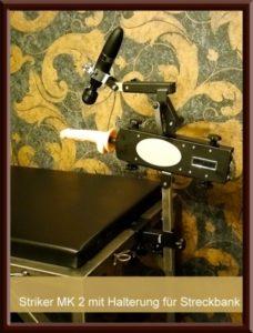 Streckbank, magic Wand, SM Wohnung Secret Islands Fickmaschine Striker MK II von Stylefetisch